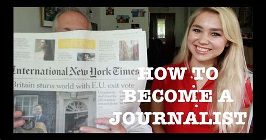 How to Start a Career as a Journalist
